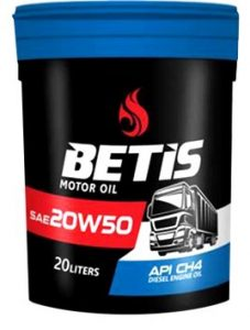 Engine Oil API CH4 SAE 20W50